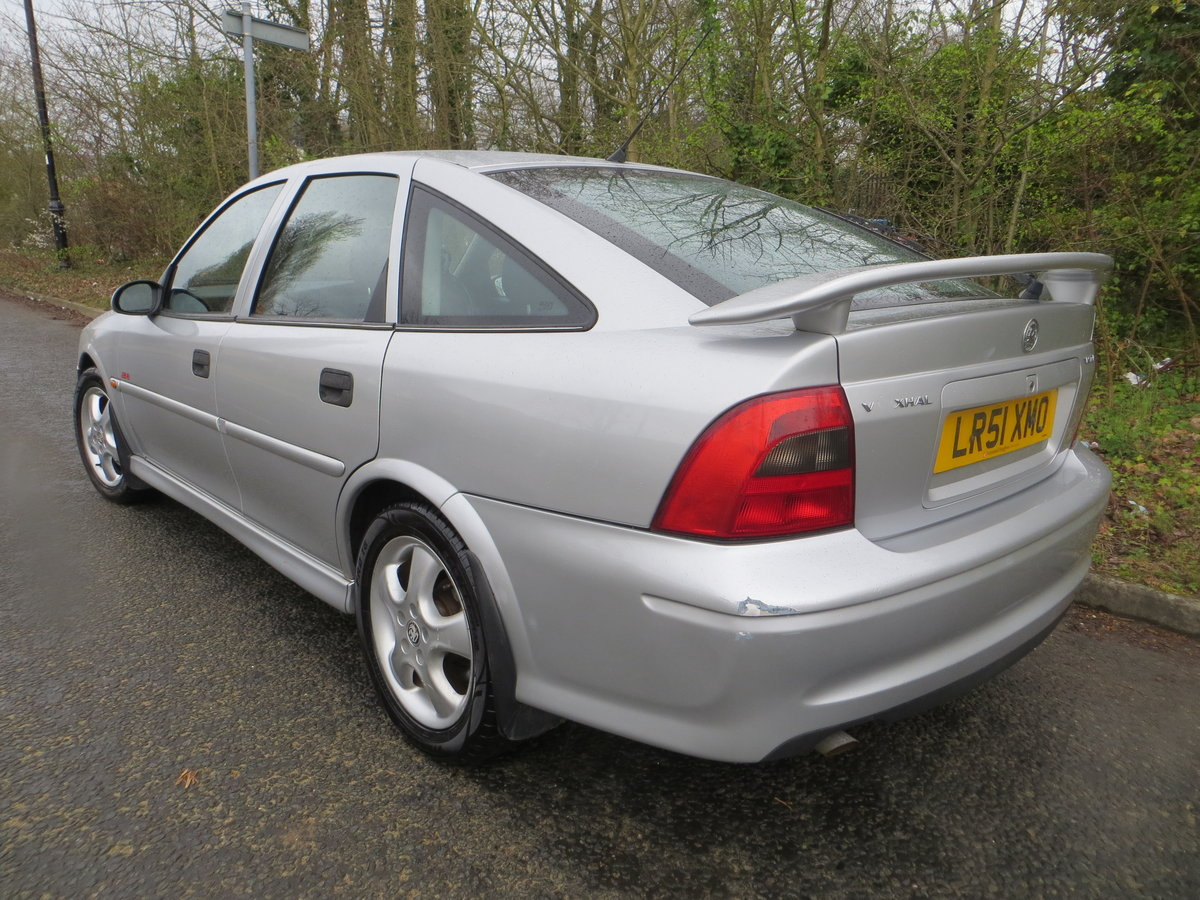 2001 Vauxhall Vectra SXI the only one for sale in the UK!!!!! SOLD (picture 2 of 6)