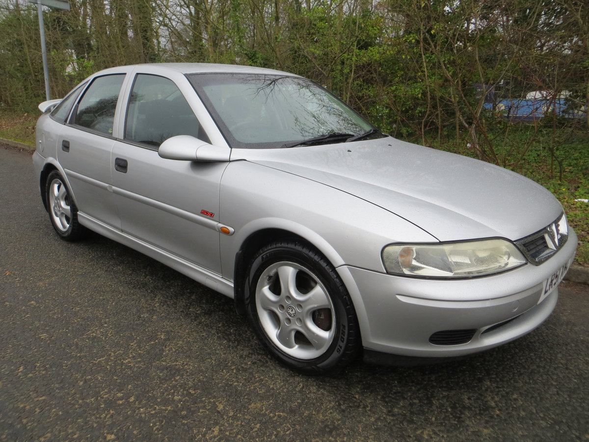 2001 Vauxhall Vectra SXI the only one for sale in the UK!!!!! SOLD (picture 4 of 6)