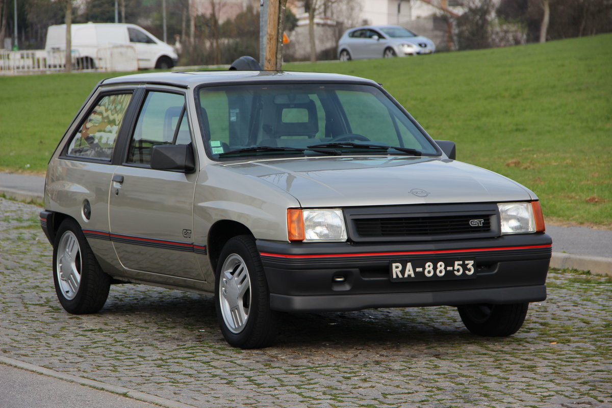 1988 Vauxhall Nova SR | Opel Corsa GT For Sale (picture 1 of 6)