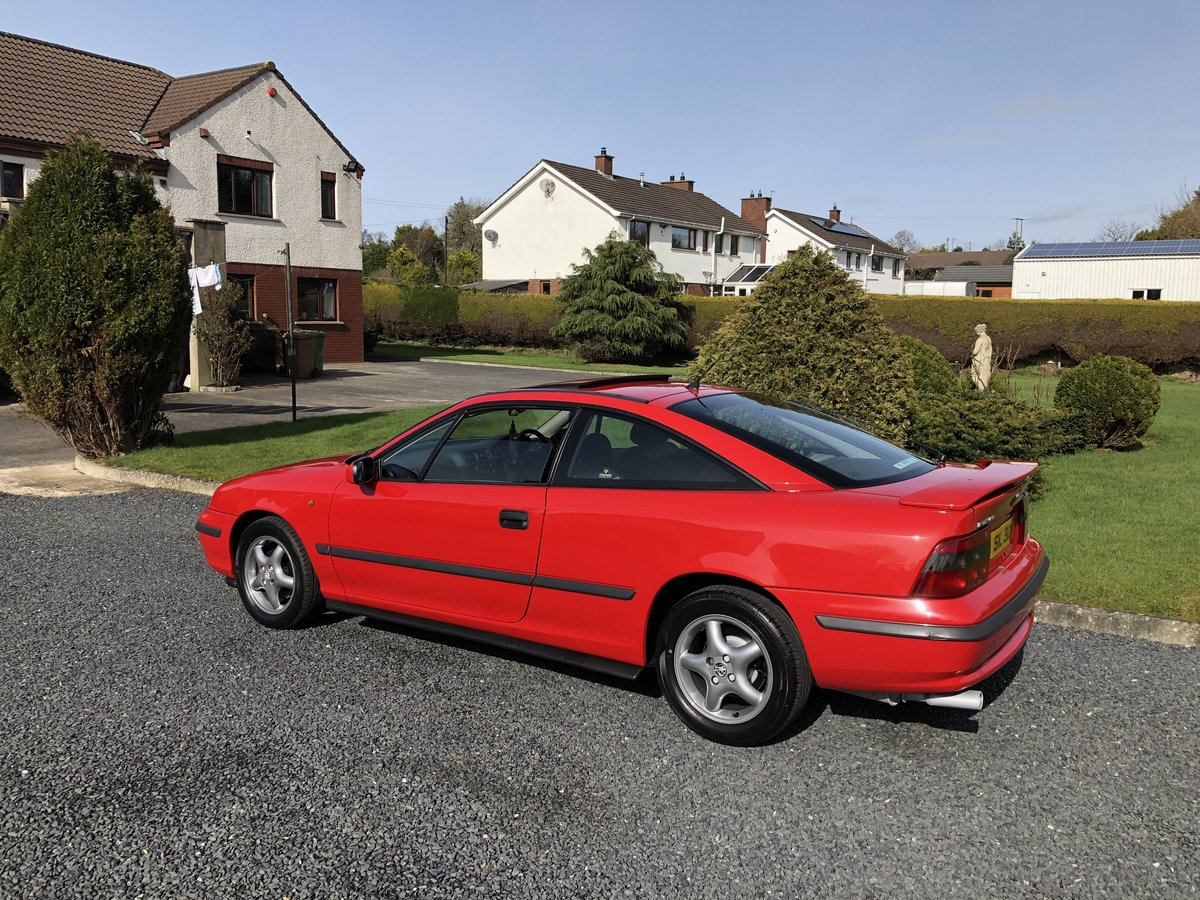 1996 Vauxhall Calibra Automatic 2.0 For Sale (picture 1 of 5)