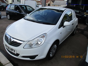SMART SMALL CORSA LATER SHAPE VAN 2009 REG SEPT MOT NO V.A.T
