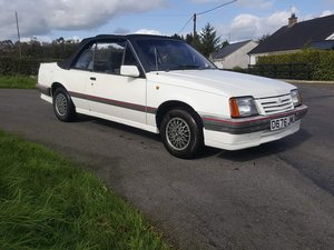 1987 MK2 Vauxhall cavalier 1.8i For Sale