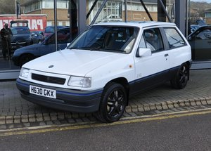 1991 VAUXHALL NOVA SR 1.4 - 29,000 miles For Sale by Auction