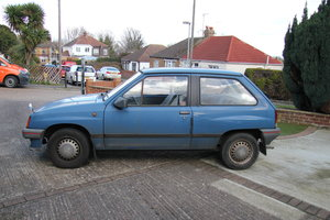 1988 Vauxhall Nova 1.2 Merit For Sale
