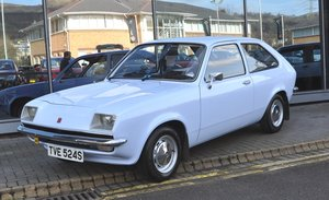 1978 VAUXHALL CHEVETTE 'L' HATCHBACK - Main dealer restored For Sale by Auction