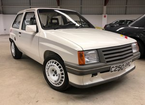 1985 Vauxhall Nova Sport Collector quality at EAMA Auction