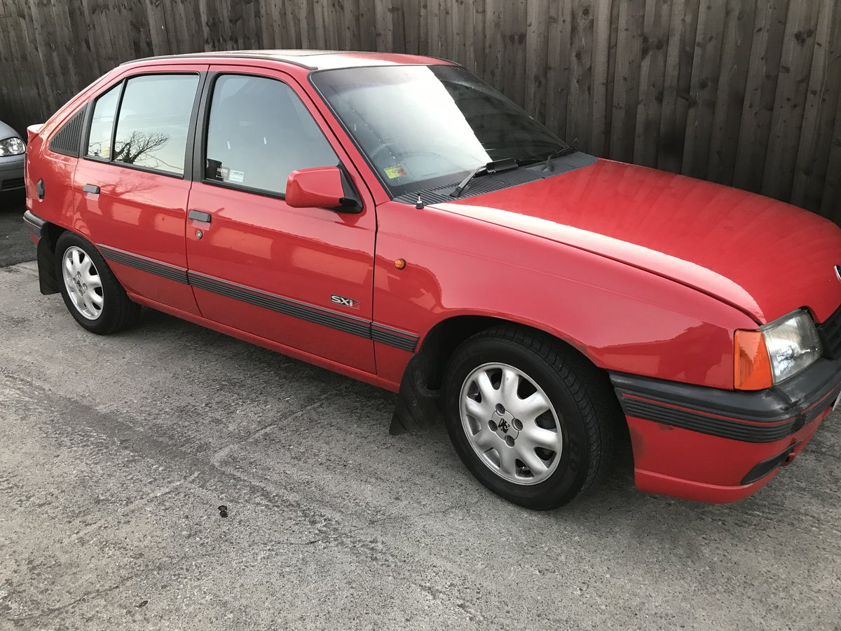 1991 Astra Mk2 SXi Hatch For Sale (picture 1 of 6)