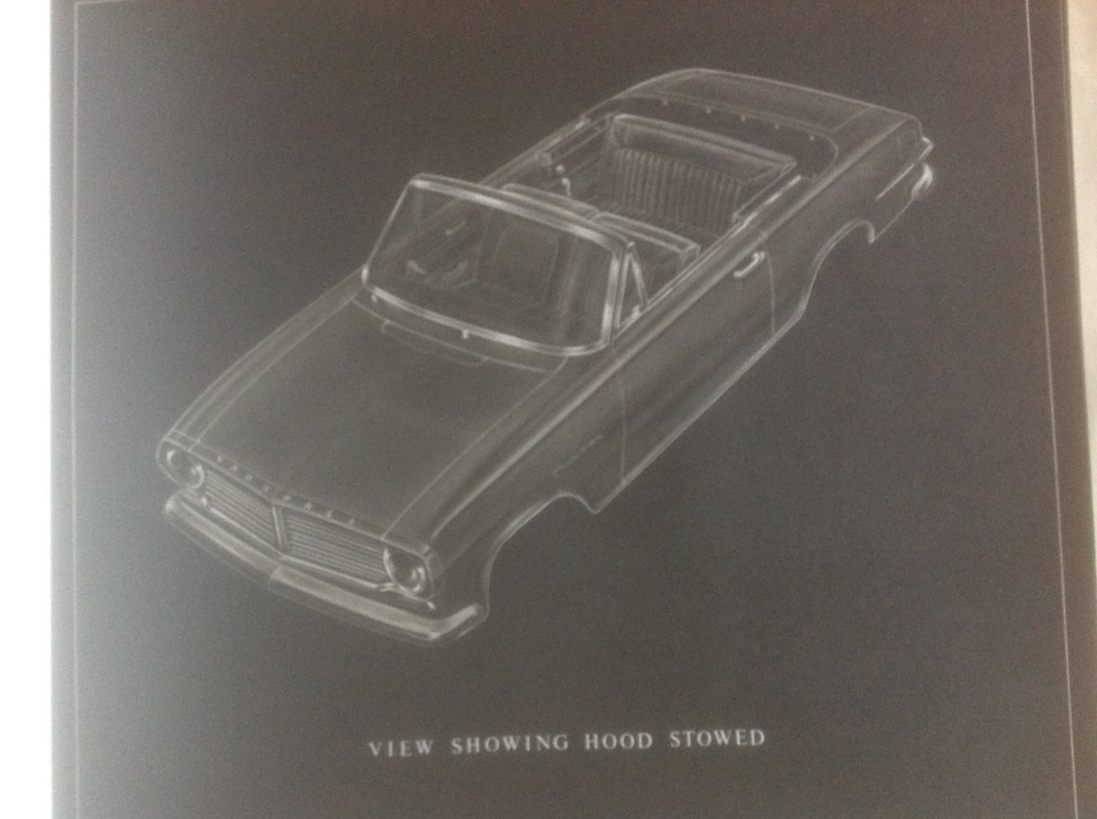Vauxhall Victor FB convertible  plans. SOLD (picture 1 of 4)