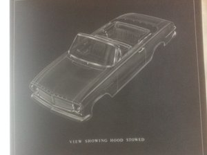 Vauxhall Victor FB convertible  plans.