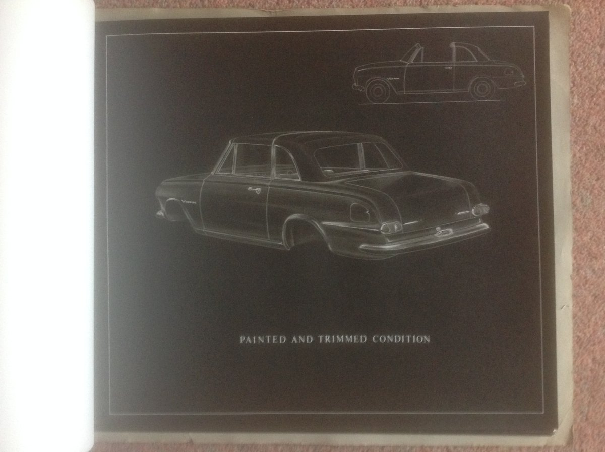 Vauxhall Victor FB convertible  plans. SOLD (picture 2 of 4)