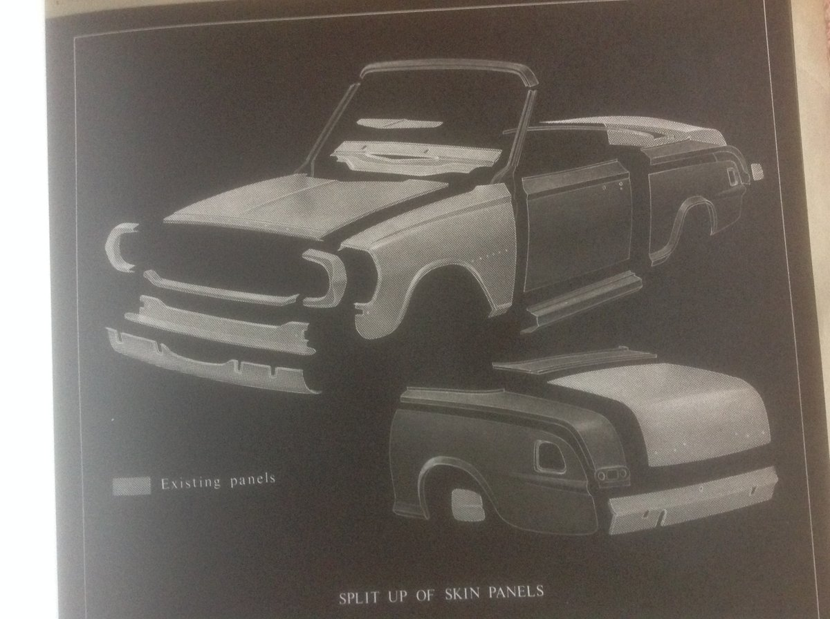 Vauxhall Victor FB convertible  plans. SOLD (picture 3 of 4)
