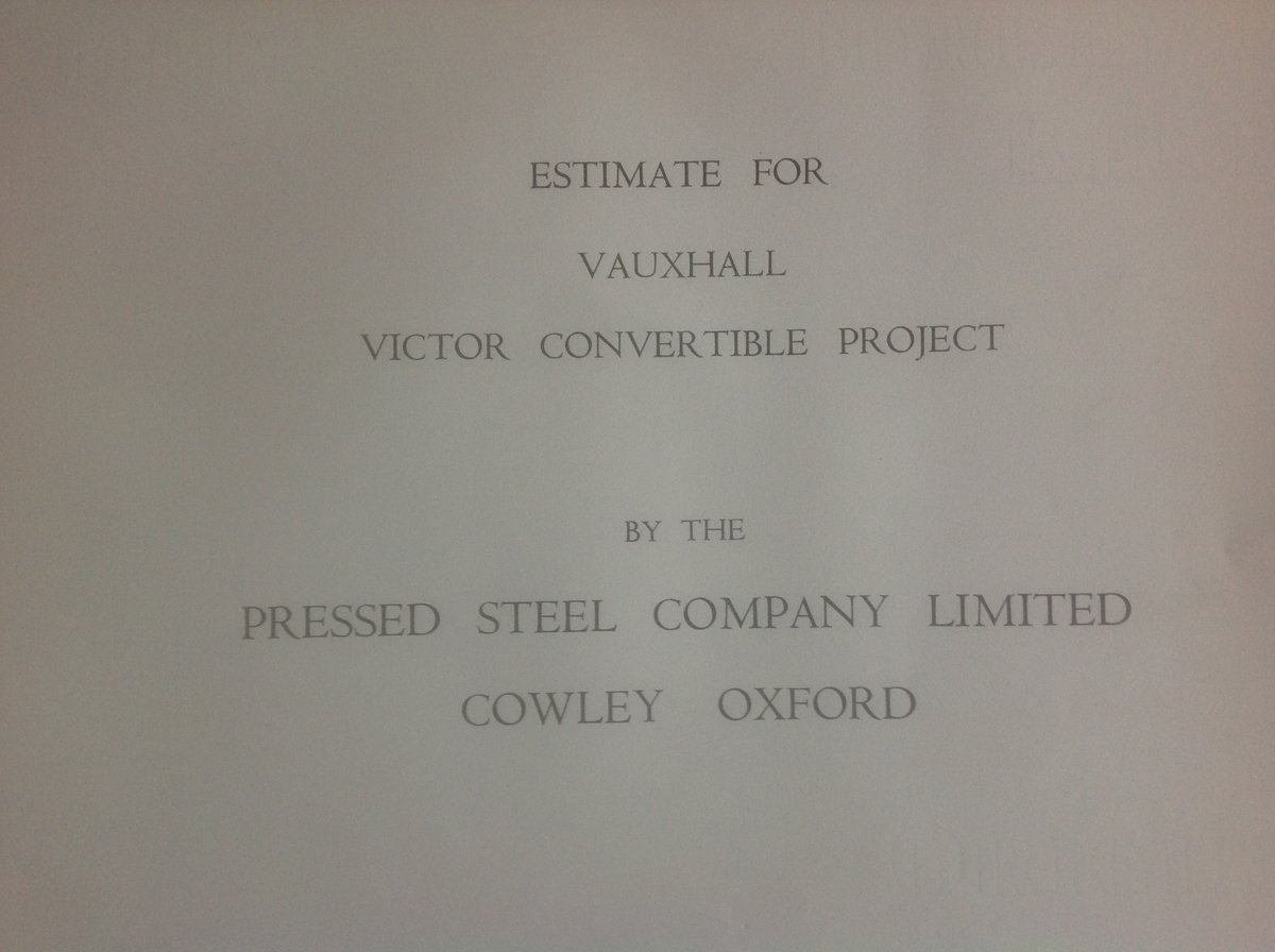 Vauxhall Victor FB convertible  plans. SOLD (picture 4 of 4)
