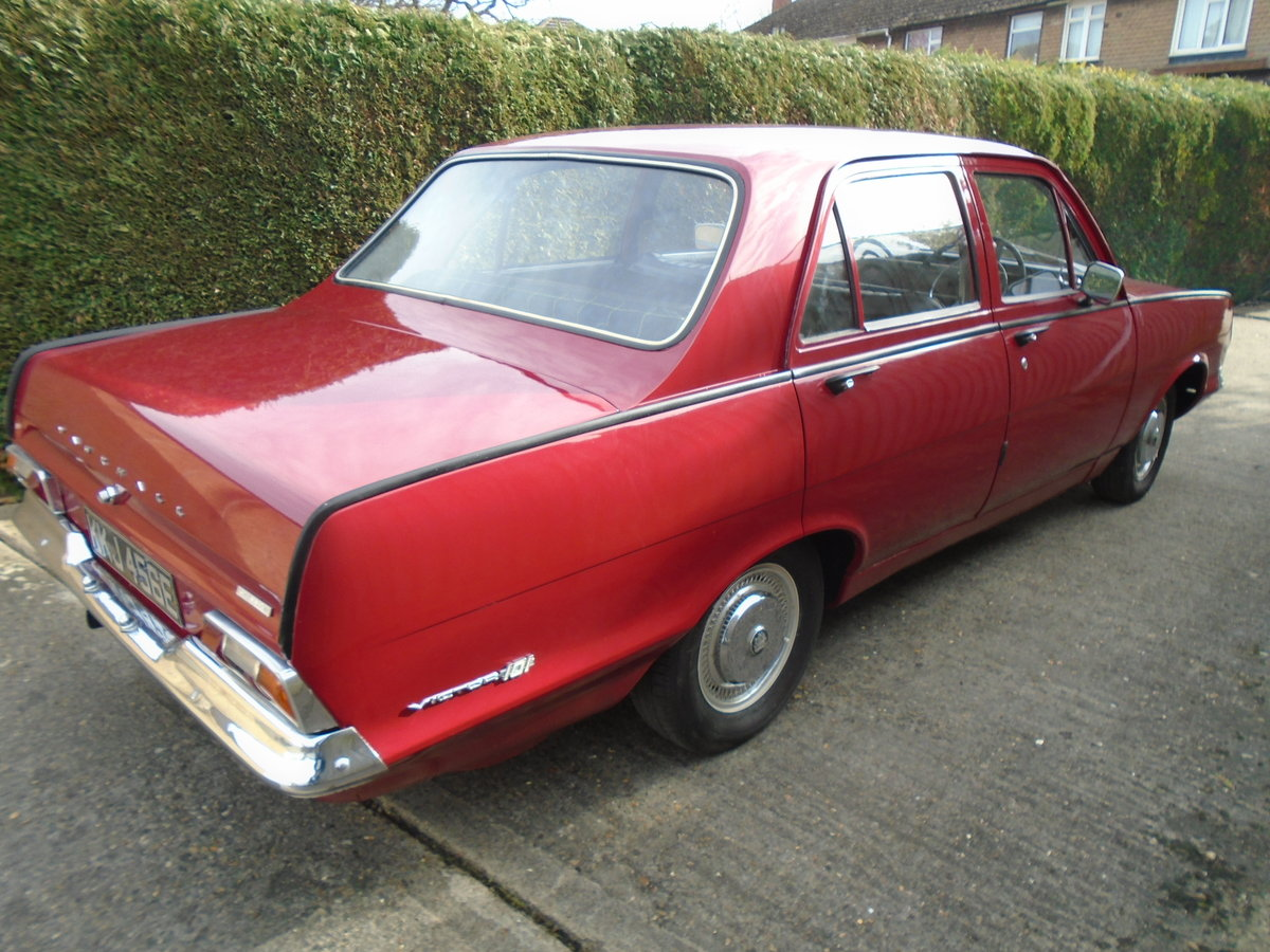 1967 Vauxhall Victor 101 FC Only 4 Owners  low mileage For Sale (picture 2 of 6)