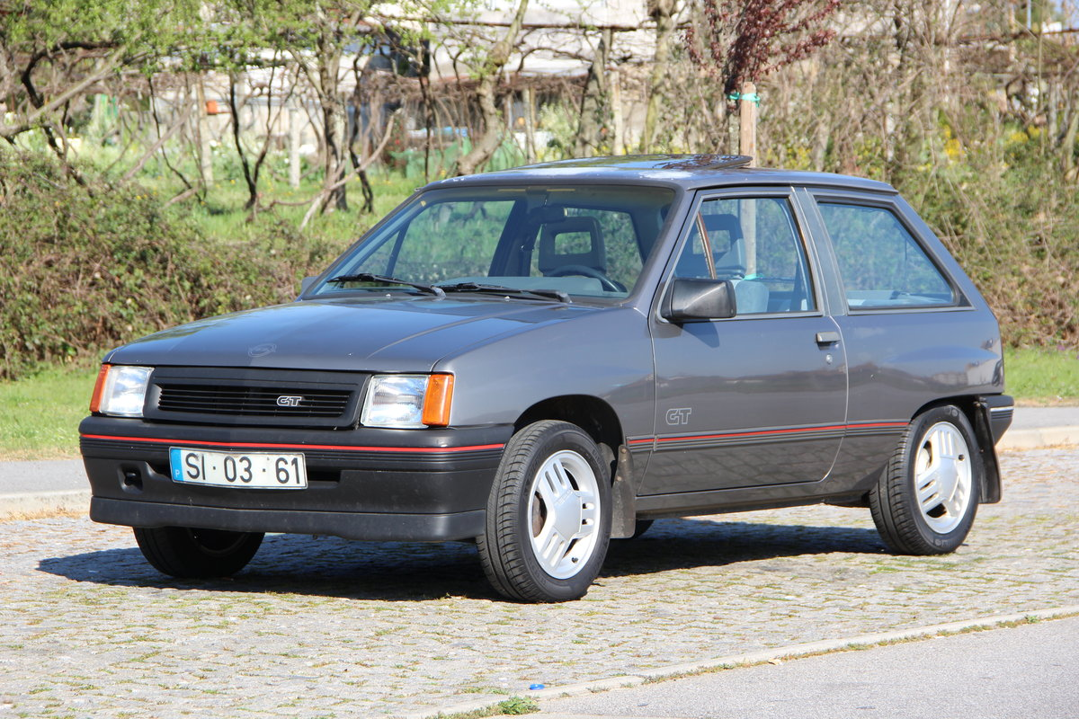 1989 Vauxhall Nova SR | Opel Corsa GT For Sale (picture 1 of 6)