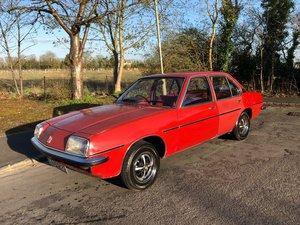 1977 Vauxhall Cavalier MK1 FULL MOT 44K Very Rare For Sale