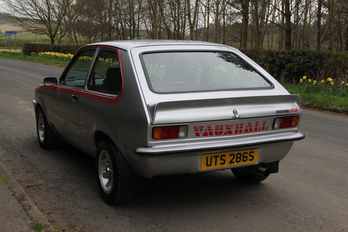 1978 Vauxhall Chevette HS - Nut & bolt rebuild, 1,000 miles since SOLD (picture 4 of 7)