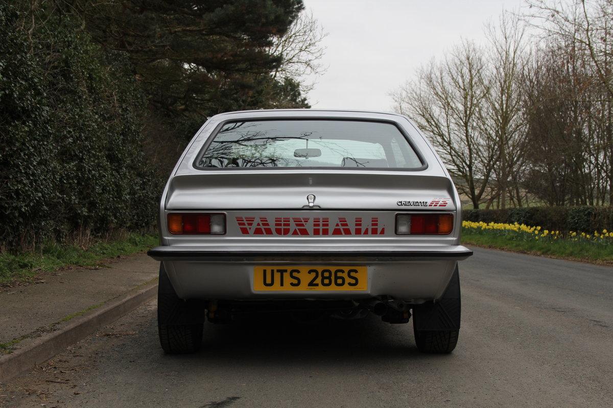 1978 Vauxhall Chevette HS - Nut & bolt rebuild, 1,000 miles since SOLD (picture 5 of 7)