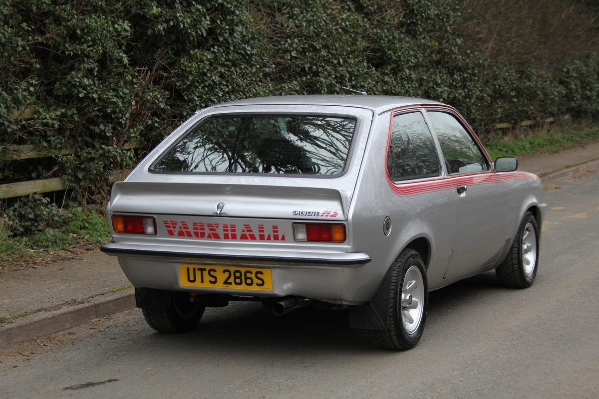 1978 Vauxhall Chevette HS - Nut & bolt rebuild, 1,000 miles since SOLD (picture 6 of 7)