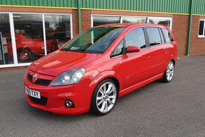 2006 Vauxhall Zafira VXR 2.0i Turbo in Flame Red For Sale