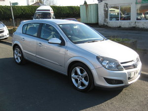 2008 08-reg Vauxhall Astra SRi 1.9CDTi 8v 5Dr automatic For Sale