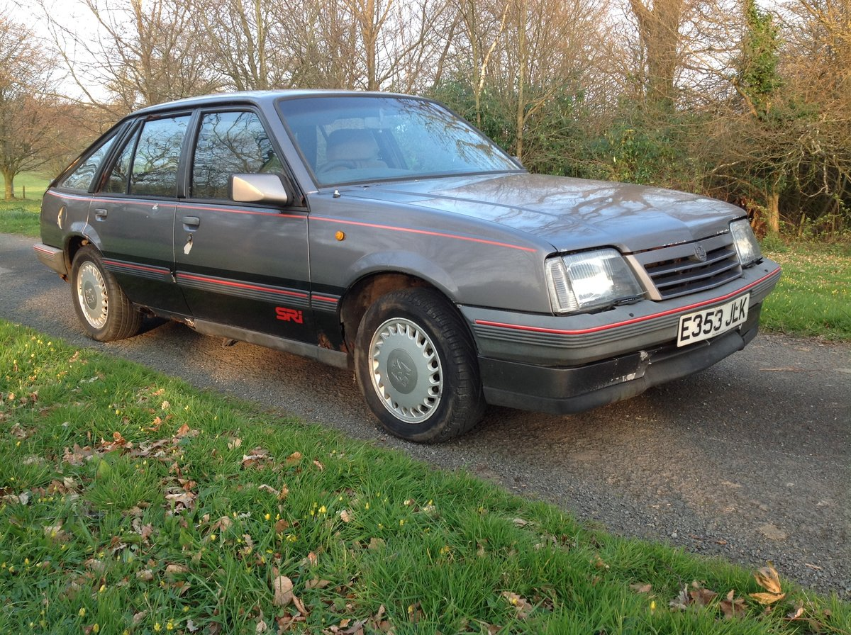 Vauxhall Cavalier 2.0 SRi 1988  SOLD (picture 1 of 6)