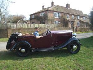 1933 Vauxhall Stratford Sports Tourer For Sale