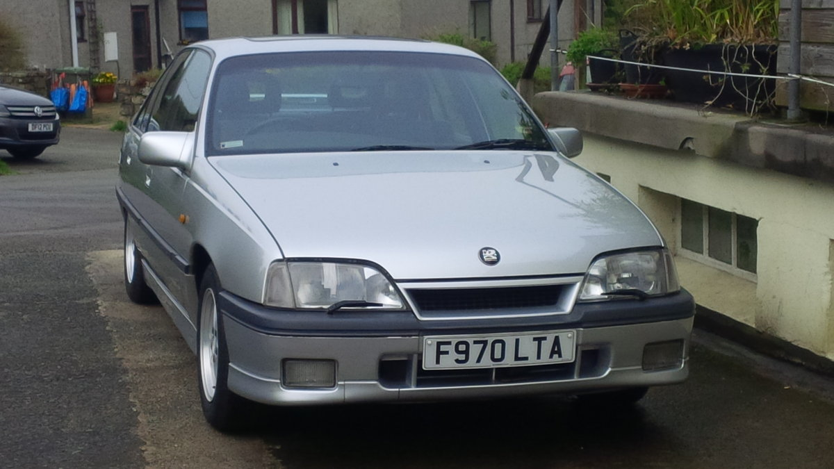 1989 Vauxhall Carlton GSi 3.0 12v For Sale (picture 3 of 6)