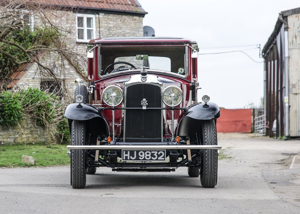 1929 Vauxhall 20/60 T-Type Richmond Saloon SOLD by Auction (picture 1 of 6)