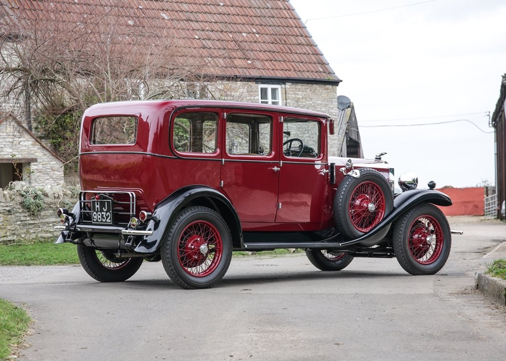 1929 Vauxhall 20/60 T-Type Richmond Saloon SOLD by Auction (picture 2 of 6)