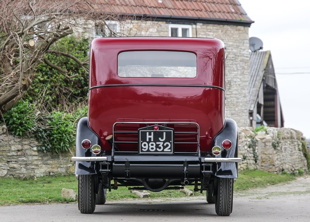 1929 Vauxhall 20/60 T-Type Richmond Saloon SOLD by Auction (picture 3 of 6)