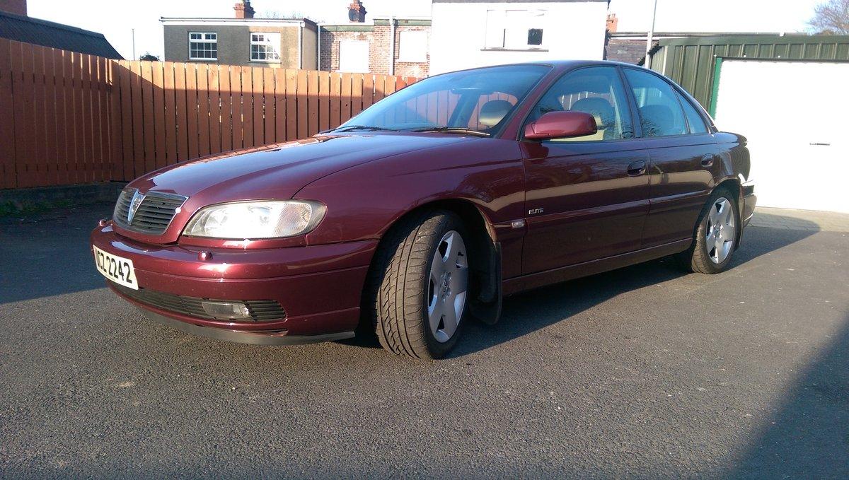 2002 Vauxhall Omega 2.6 V6 24v Elite 4dr Auto MOT Sept For Sale (picture 1 of 6)