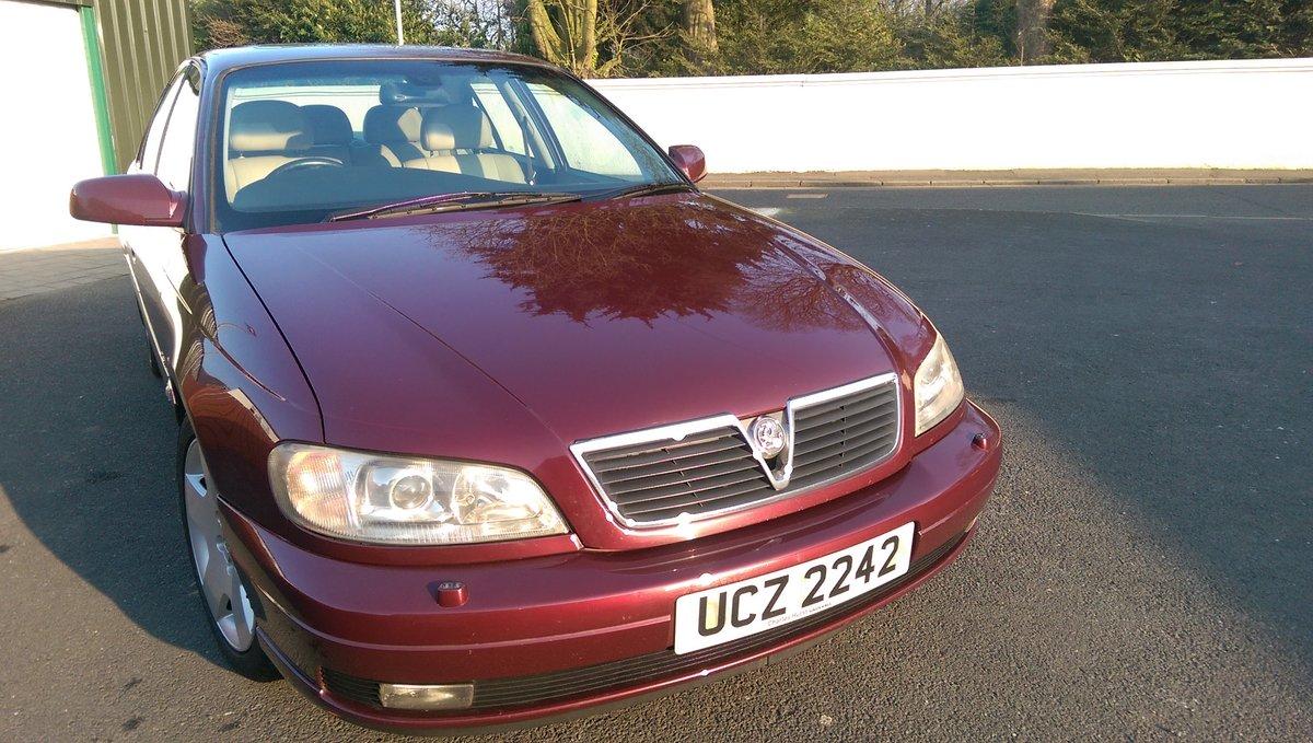 2002 Vauxhall Omega 2.6 V6 24v Elite 4dr Auto MOT Sept For Sale (picture 2 of 6)