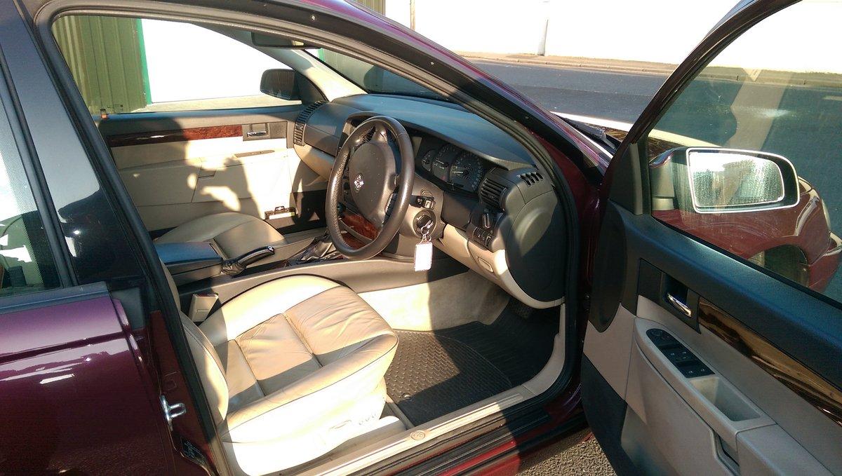 2002 Vauxhall Omega 2.6 V6 24v Elite Auto MOT Oct 20  For Sale (picture 3 of 6)