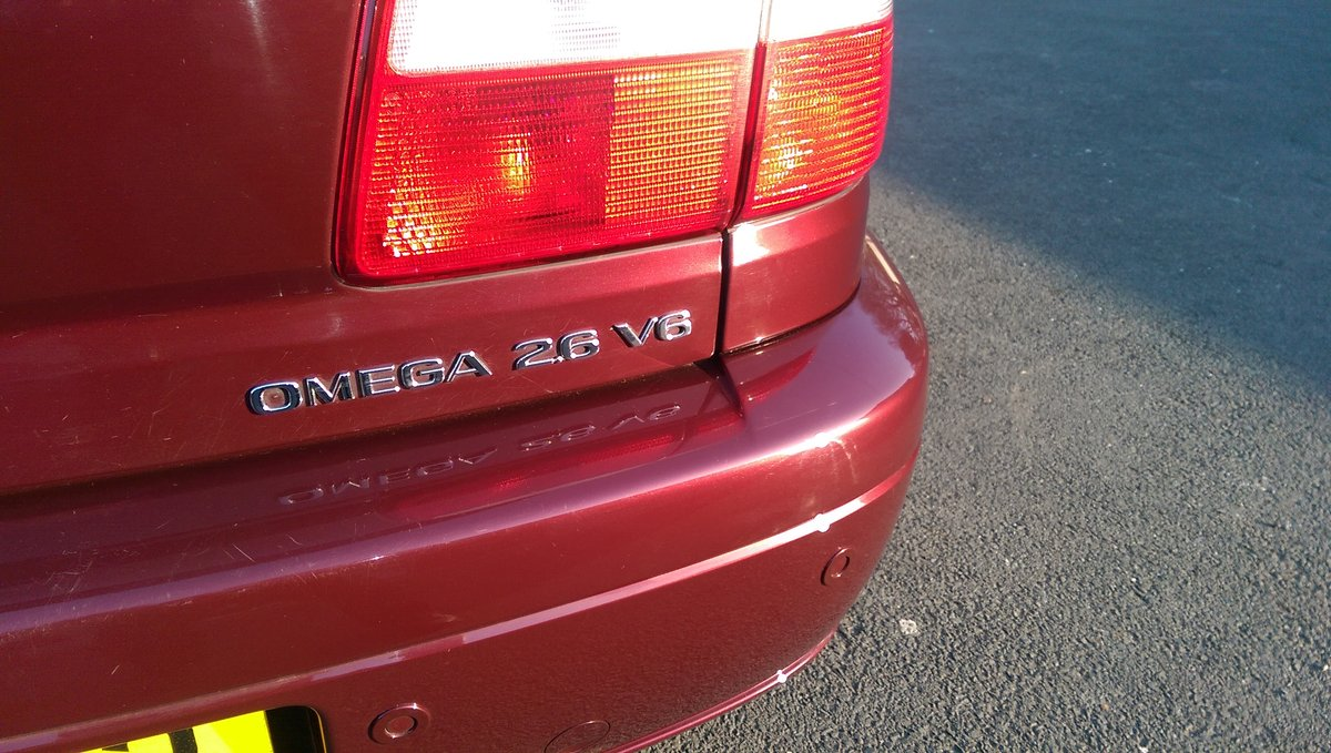 2002 Vauxhall Omega 2.6 V6 24v Elite 4dr Auto MOT Sept For Sale (picture 6 of 6)
