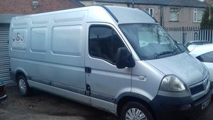 2004 vauxhall movano lwb  2.5 diesel For Sale