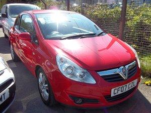 2007 Vauxhall Corsa Design 1.7 CDTi  For Sale