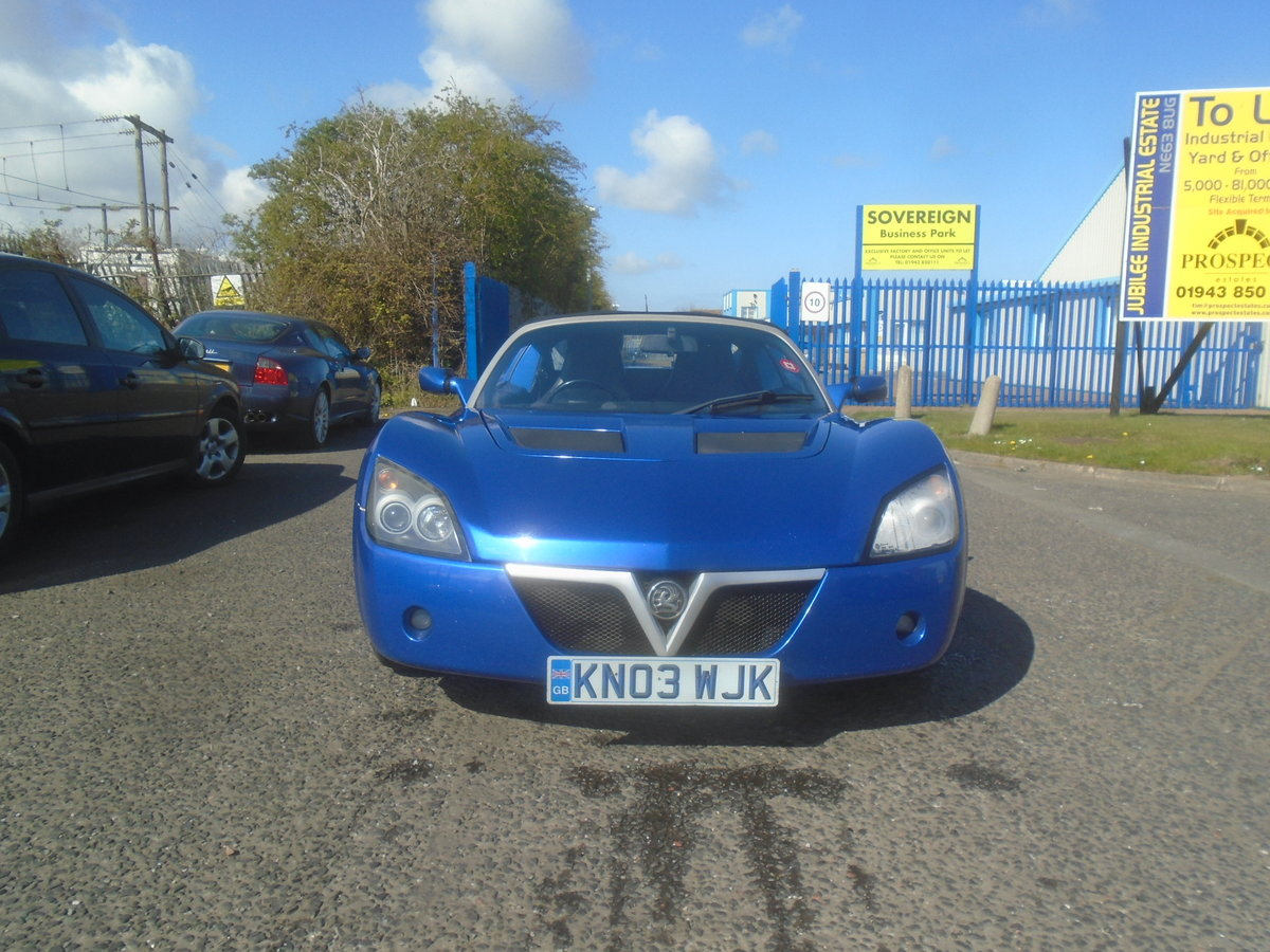2003 VAUXHALL VX220 16V  For Sale (picture 1 of 6)