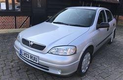 2003 Astra 1600 8V 5Dr Hatch-Barons Sandown Pk Tues 30 April 2019 For Sale by Auction