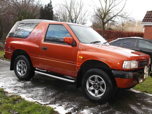 1996 Vauxhall Frontera `Apache` Sport 4 x 4 For Sale