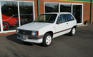 1989 Vauxhall Nova Sting 1.2 3dr with Factory Sunroof