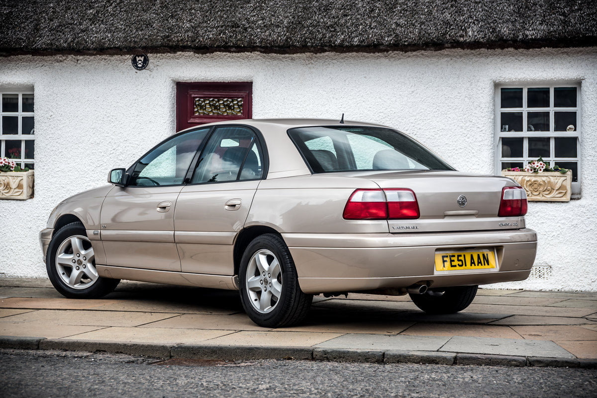 2001 Vauxhall Omega 2.2 CD 14500 Miles Pristine As New For Sale (picture 3 of 6)