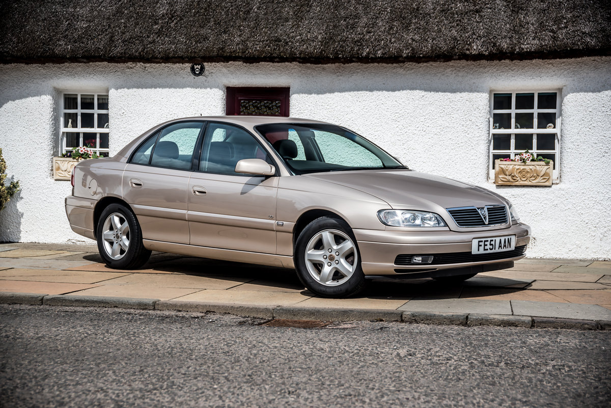 2001 Vauxhall Omega 2.2 CD 14500 Miles Pristine As New For Sale (picture 1 of 6)