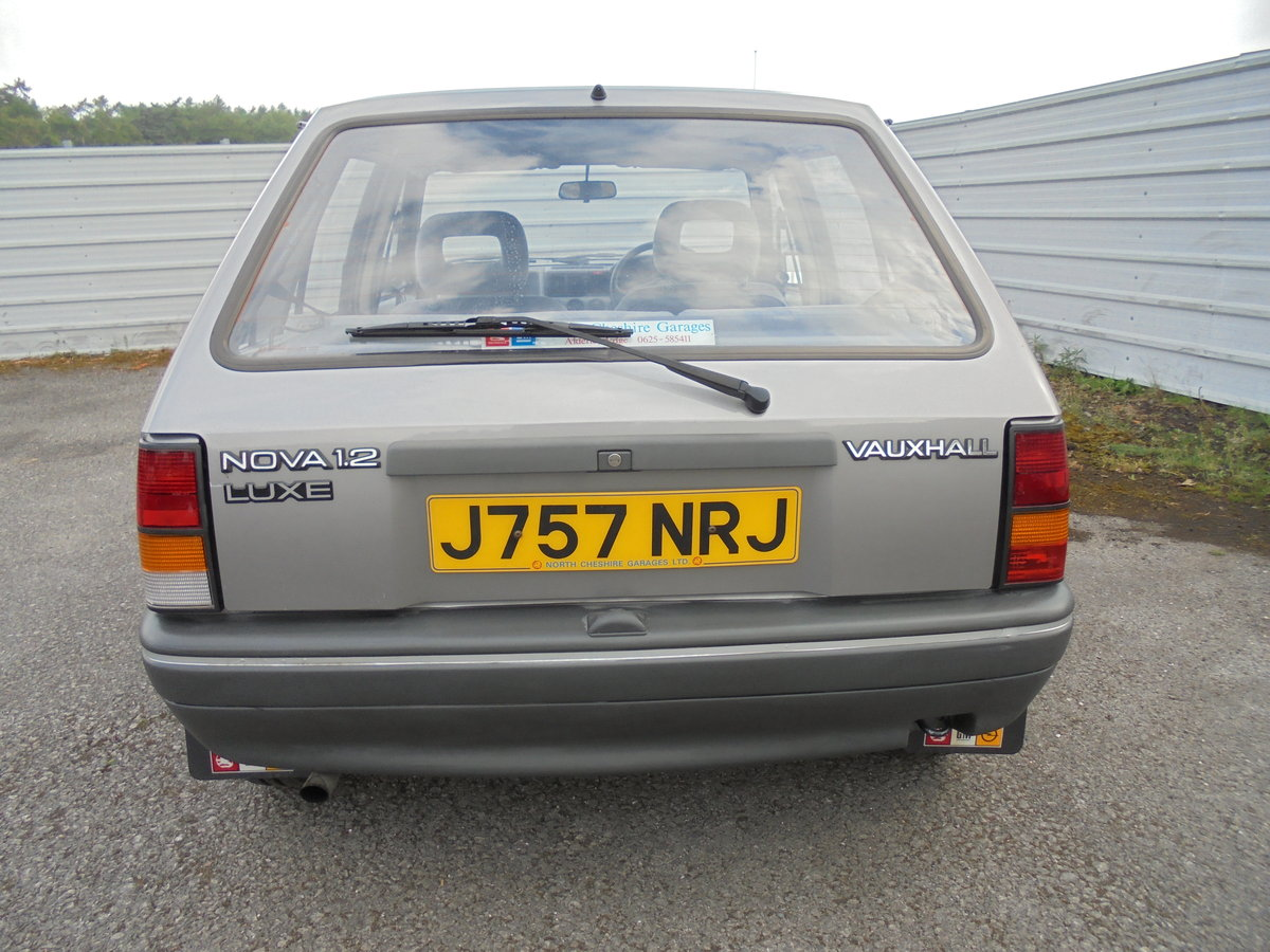 1991 NOVA 1.2 LUXE For Sale (picture 4 of 6)