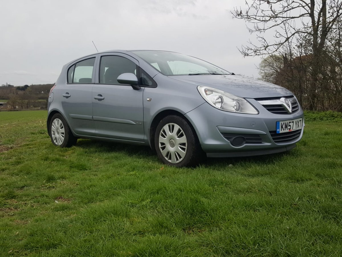 2007 Vauxhall Corsa Club A/C Cdti Diesel For Sale (picture 1 of 6)