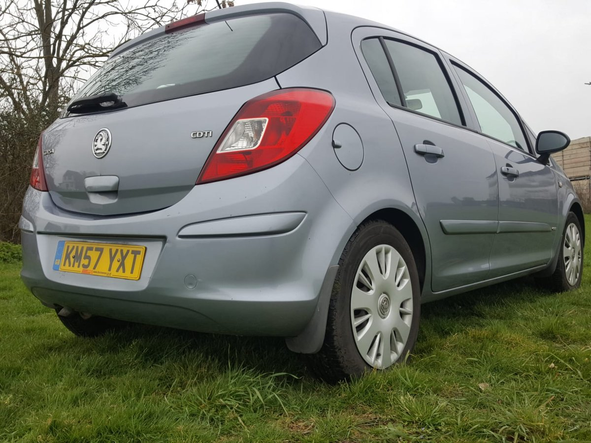 2007 Vauxhall Corsa Club A/C Cdti Diesel For Sale (picture 3 of 6)