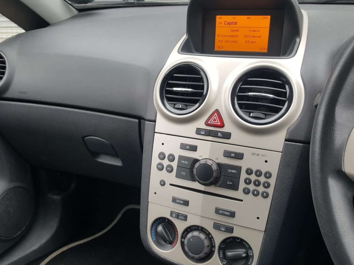 2007 Vauxhall Corsa Club A/C Cdti Diesel For Sale (picture 6 of 6)