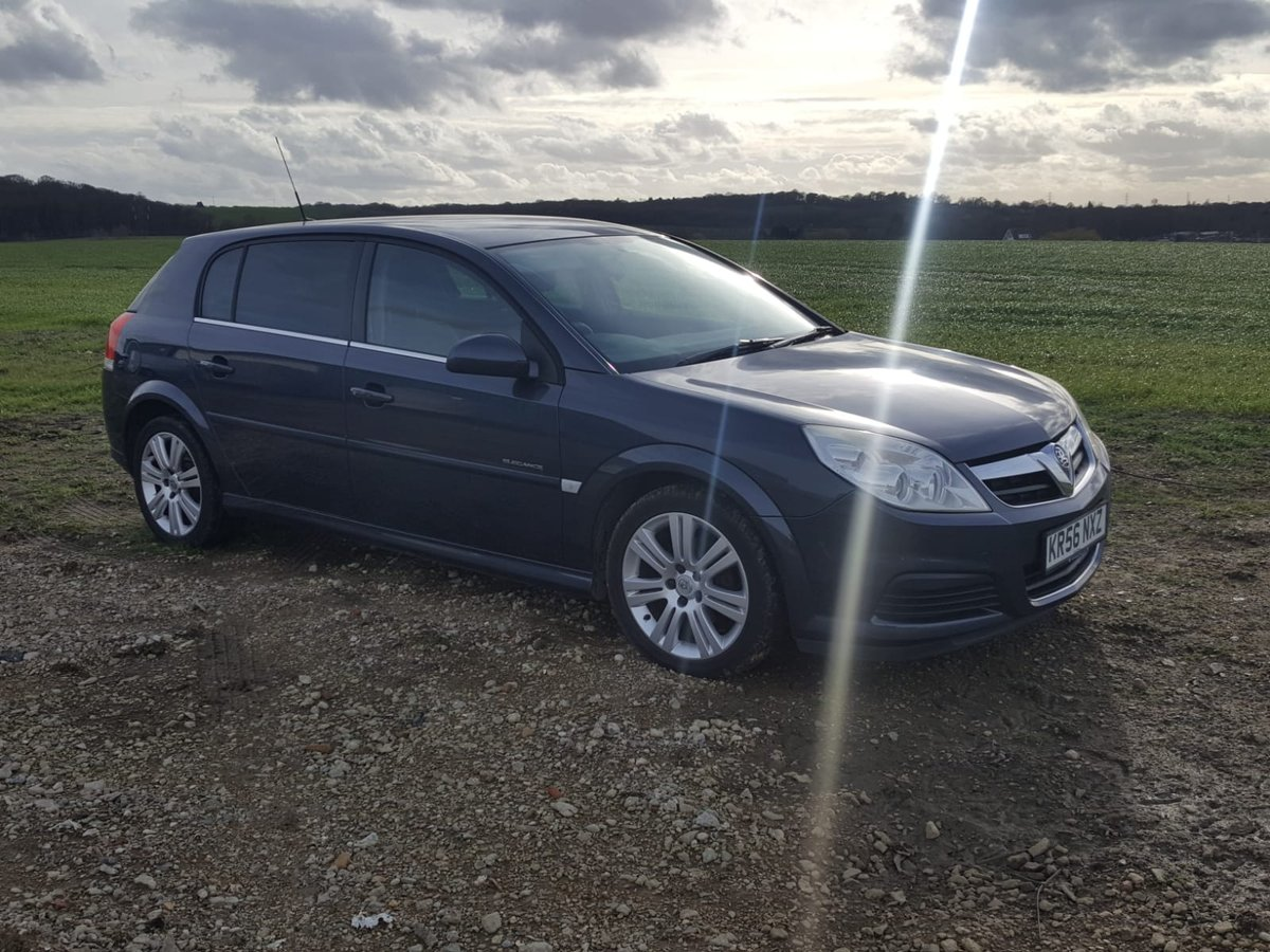 2006 Vauxhall Signum 1.9 Cdti Elegance 6 Speed Diesel For Sale (picture 1 of 6)