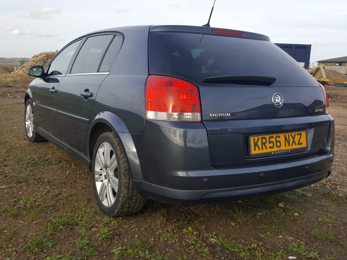 2006 Vauxhall Signum 1.9 Cdti Elegance 6 Speed Diesel For Sale (picture 3 of 6)