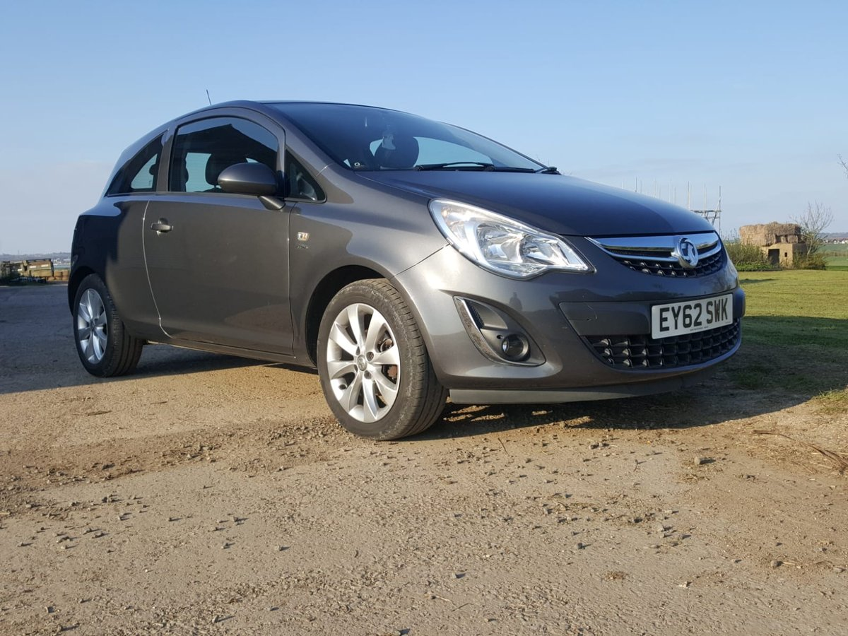 2012 2013 Vauxhall Corsa Active Ecoflex 1248cc Diesel Manual For Sale (picture 1 of 4)