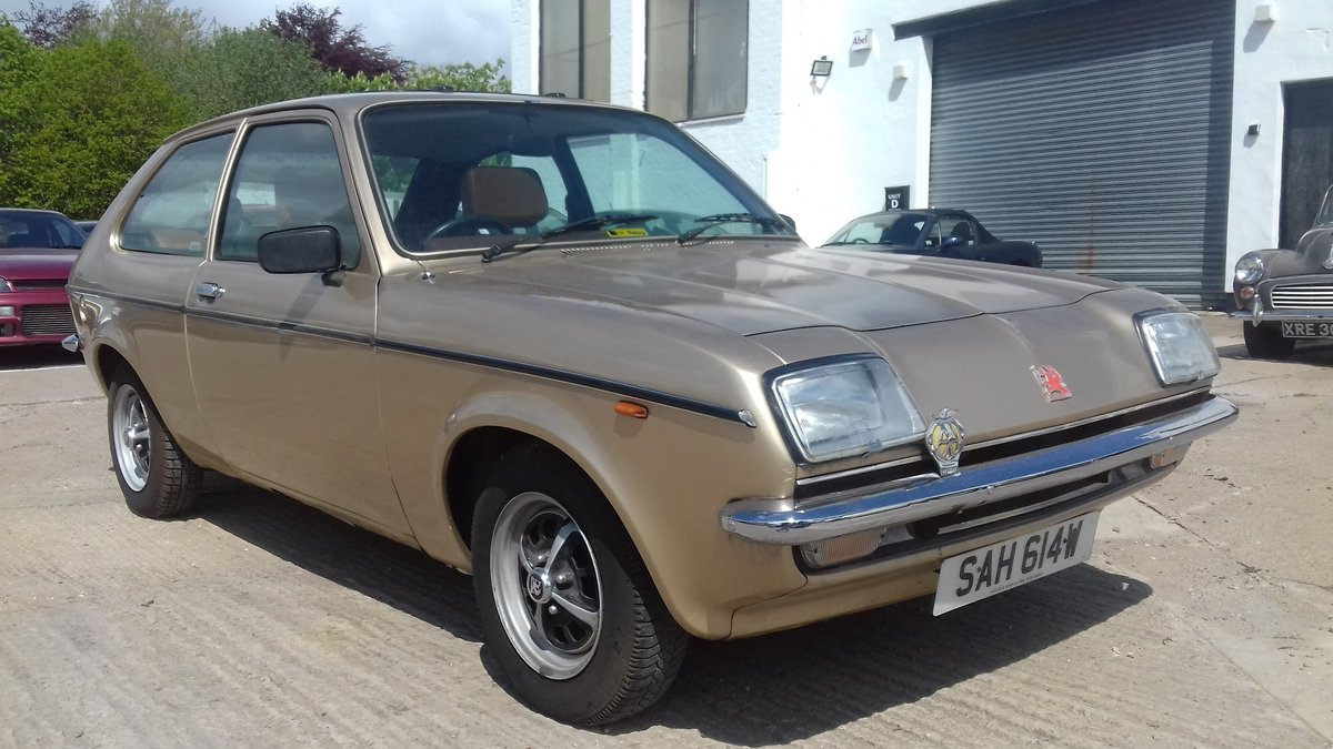 1981 VAUXHALL CHEVETTE L 1 OWNER LAST 33YRS ~ ONLY 53K MILES SOLD (picture 2 of 6)
